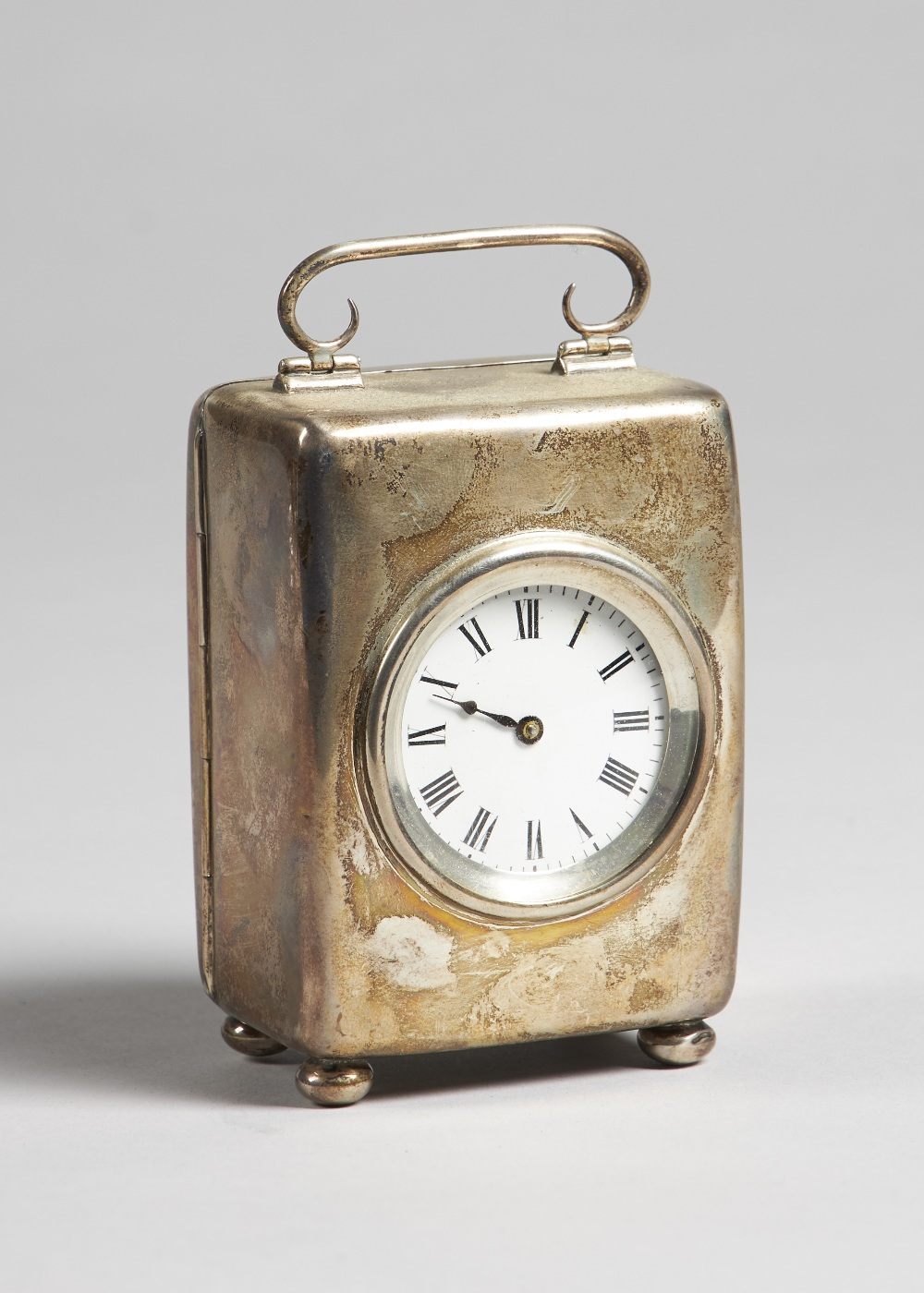 Lot 686 - A silver cased carriage timepiece Birmingham,