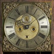 An oak, pine and fruitwood longcase clock The movement by Thomas Wise, London, circa 1690,