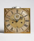 A Charles II 10in. square longcase clock movement Unsigned, circa 1675/80 The 10in.