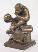 A modern composite bronze,