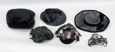 Erik de Paris; a lady's black velvet and