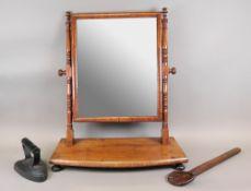 An early 19th century mahogany swing toi