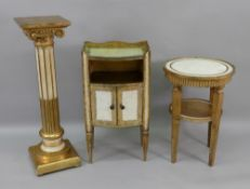 A reproduction Italian giltwood and pain