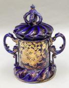 A Masons Ironstone jar and cover, circa
