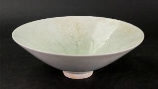 A Chinese Qingbai shallow bowl, Song dynasty or later,