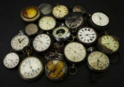 A collection of silver, and other pocket watches (17).
