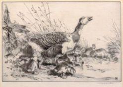 Winifred Austen (British, 1876-1964), Mother Goose,
