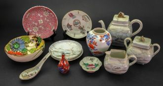 A group of Chinese and Japanese ceramics, 19th/20th century,