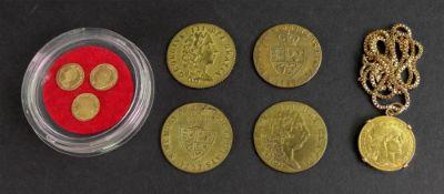 Elizabeth II fraction of a sovereign 1965,