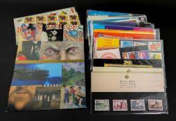 Elizabeth II mint stamps in sets, part sets, prestige booklets,
