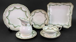 A Thomas Goode and Co Ltd South Audley Street London twenty four piece part tea service,