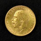 George V sovereign 1925.