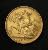 Edward VII sovereign 1902.