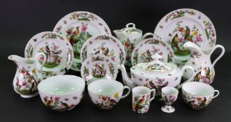 An Austrian part tea, coffee and breakfast service, seventy one pieces,
