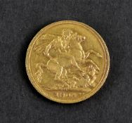 Edward VII sovereign 1904.