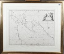 COLLINS, Greenville (1643-94, hydrographer). The Firth of Murry. [London:] 1689.