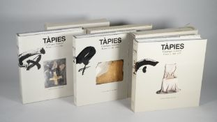 TAPIES, Antoni (1923-2012) - Anna AGUSTI (1954-2015) & others. Tàpies. Catalogue raisonné.
