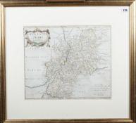MORDEN, Robert (1650-1703). Glocester Shire. [London: 1680].
