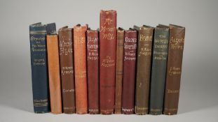 RIDER HAGGARD, Henry (1856-1925) - A collection of 22 novels by Henry Rider Haggard,