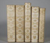 BINDINGS - Dante Gabriel ROSSETTI (1828-82). The Poetical Works. London: Ellis, 1910.