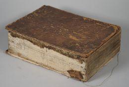 BIBLE, in German - Biblia, Das ist: die gantze Schrifft, Altes und Neues Testaments,