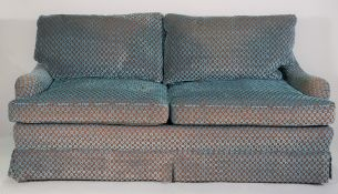 Edward Ferrell; a modern low two seater sofa,