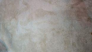 A part silk beige/cream carpet, 313cm x 365cm.
