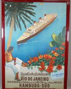 TOURISM / ADVERTISING POSTERS: two colour lithographs,