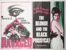 FILM POSTERS, X-RATED: a group of five UK Quad posters, loose sheets,