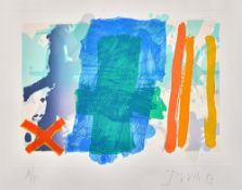 Albert Irvin (1922-2015), Gulbenkian, colour lithograph, signed artists proof, 33cm x 47.5cm.