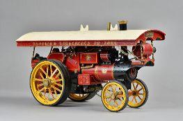 A William Allchin ¾ inch live steam traction engine, built by Michael Holden Ltd, No 55,