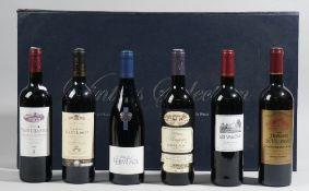 Vinters Selection; six bottles comprising; 2015 Les Vallons Bordeaux, 2006 Domaine De Villeray,