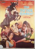 FILM POSTER: 'The Heroes of Kandahar', A Filmscope Release, (Columbia Pictures Corporation),