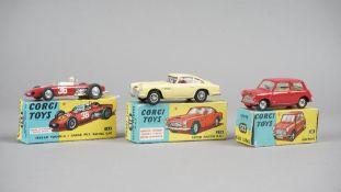 Three Corgi die-Cast vehicles, comprising; 225 Austin Seven,