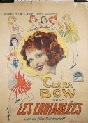 FILM POSTER: 'THE WILD PARTY' (1929) : a French version film poster, titled 'Les Endiablees',