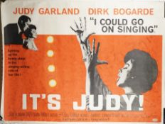 FILM POSTERS, 'I COULD GO ON SINGING' (1963) AND 'ON THE WATERFRONT' (1954): two film posters,