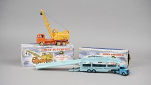 A Dinky Supertoys 982 Pullmore car transporter with loading ramp,
