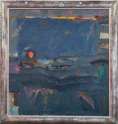 James Robertson (contemporary), Harvest Moon, oil on canvas, 90cm x 84.5cm.