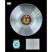 DEF LEPPARD: Silver Award for the album 'Adrenalize', 1993,
