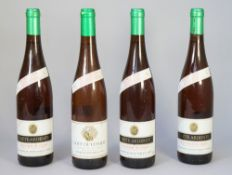 One bottle 1989 Gout Du Conseil Valais and three bottles 1995 Crete Ardente, Malvoisie Du Valais,