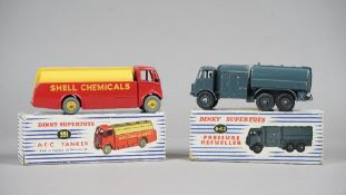 A Dinky Supertoys 642 Pressure Refuler and a Dinky Supertoys 991 A.E.C. Tanker, both boxed, (2).