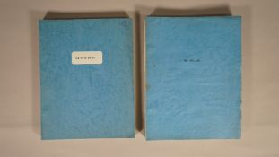'THE THIRD SECRET' SCRIPT, 1963 AND 'THE BLUE MAX' FIRST DRAFT SCRIPT,