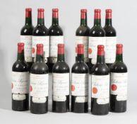 Twelve bottles of 1959 Chateau Ripeau Saint-Emilion, Grand Cru Classe, in original box., (12).
