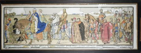 THEATRICAL PRINT: 1903: Souvenir of Shakespeare's 'King Richard II',