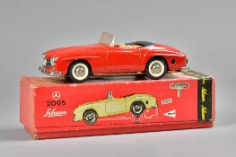 A Schuco 2095 Mercedes 1905L automated toy car, boxed.