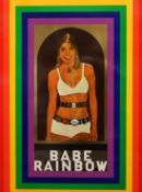 PETER BLAKE ( 1932 - ) BABE RAINBOW, 1968.