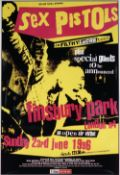 MUSIC PROMO POSTERS: a group of thirteen concert, and a few record company promotional posters,