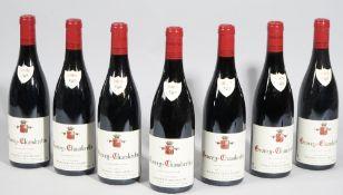 Twleve bottles of 2009 Gevrey-Chambertin Domaine Denis Morter,