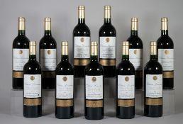 Eleven bottles of 2006 Château Lamartine Cotes de Castillon, (11).