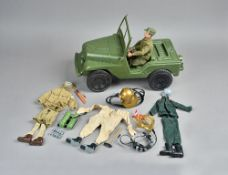 An Action Man 'Transport Command' Jeep,